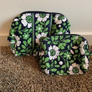 Vera Bradley Lucky You cosmetic bags